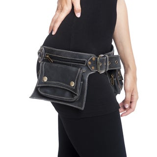 Women's Leather Travel Utility Belt (India)