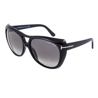 Tom Ford FT0294-01B Claudette Sunglasses