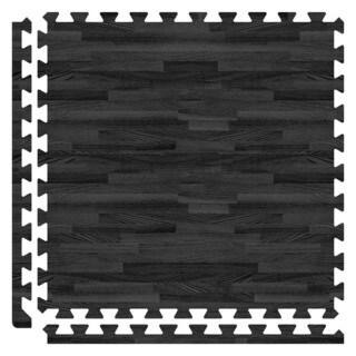 SoftWoods Floor Tile Set - Black