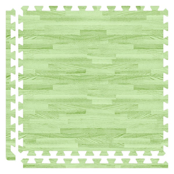 SoftWoods Floor Tile Set - Green