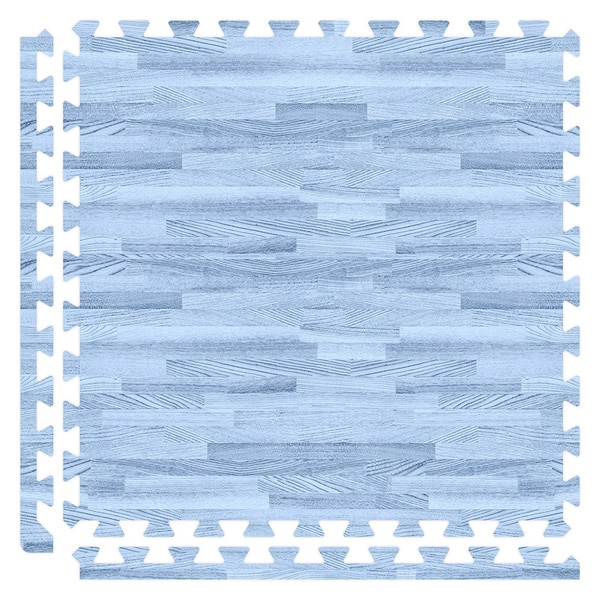 SoftWoods Floor Tile Set - Blue