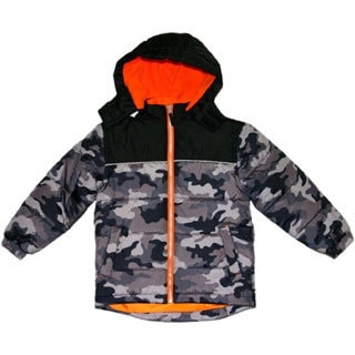 Northpoint Toddler Boy's Camo Bubble Jacket