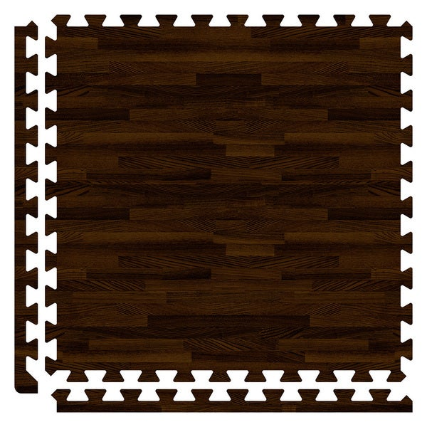 SoftWoods Floor Tile Set - Walnut