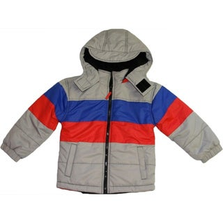 Northpoint Boy's 4-7 Frost Grey Bubble Jacket