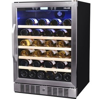 NewAir 52-bottle Stainless Steel Compressor Wine Cooler