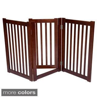 3-panel Free-standing Pet Gate