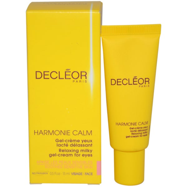 Decleor Harmonie Calm Relaxing Milky Gel-Cream For Eyes 0.5-ounce Gel