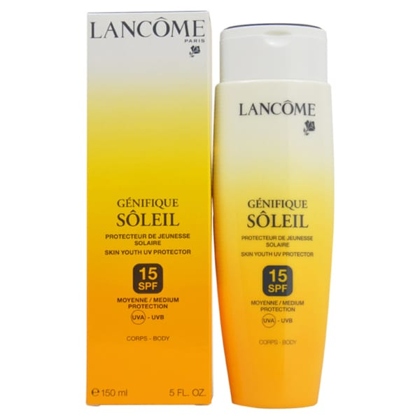 Lancome Genifique Soleil Skin Youth UV Protector SPF 15 for Body 5-ounce Skin Protector