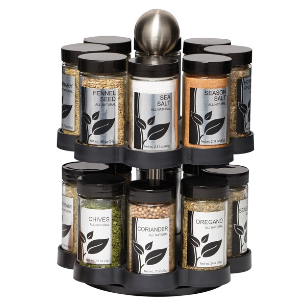Hoffman 16 Jar Madison Spice Rack