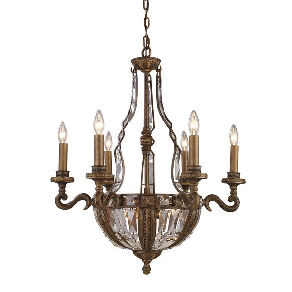 Elk Lighting Trump Home Millwood 10-light Antique Bronze Chandelier
