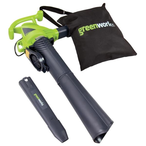 GreenWorks 24072 12-amp Variable Speed Corded Blower/ Vac