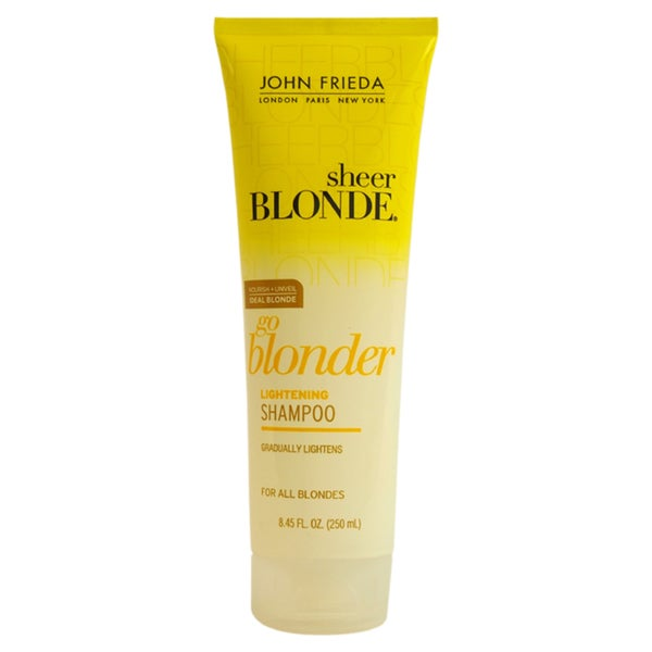 John Frieda Sheer Blonde Go Blonder Lightening 8.45-ounce Shampoo