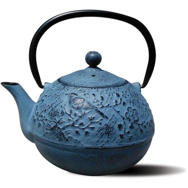 Cast Iron Suzume Teapot 24 Ounce