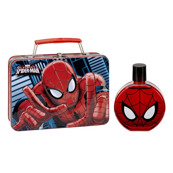 Ultimate Spider-Man 2-piece Fragrance Set with Metal Lunch Box