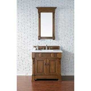 36-inch Brookfield Country Oak Single Vanity