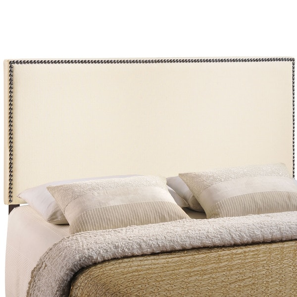 Region Full Size Upholstered Nailhead Headboard  Overstock