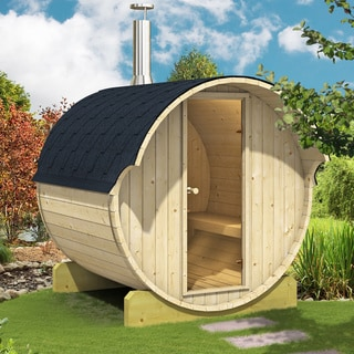 Allwood Nordic Spruce 4-person Barrel Sauna