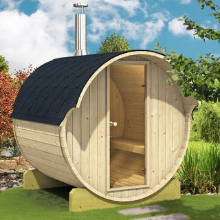Allwood Nordic Spruce 6-person Barrel Sauna