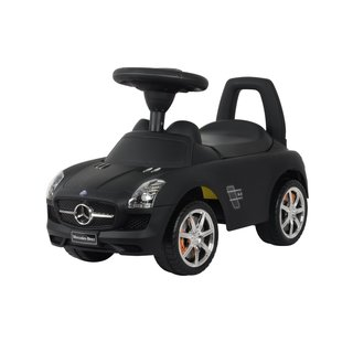 Best Ride On Cars Mercedes Matte Black SLS AMG Push Car