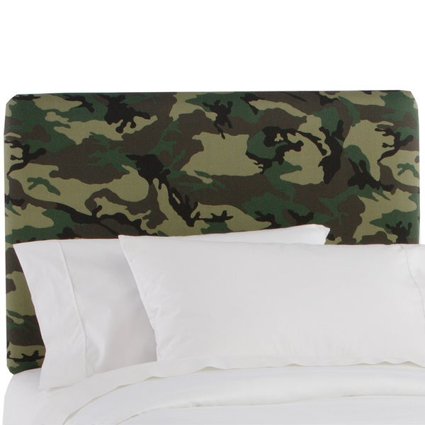 Made to Order Camo Upholstered Headboard