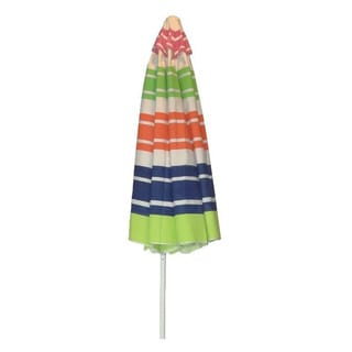 Fantasy 9-foot Multi-color Umbrella With Crank