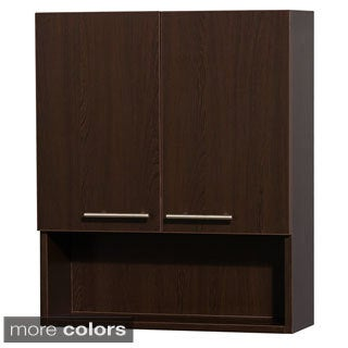 Wyndham Collection Amare 29-inch Bathroom Wall-Mounted Storage Cabinet (2-door)