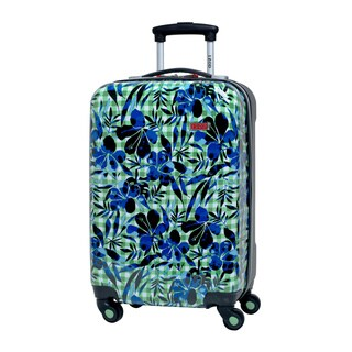 Izod Enterprise 20-inch Expandable Hardside Spinner Carry-on Upright Suitcase