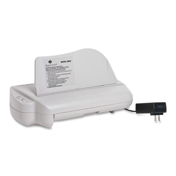 Sparco High Volume Electric 3-Hole Punch - Each