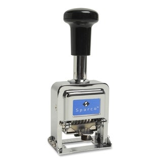 Sparco Self-Inked 7 Wheels Automatic Numbering Machine - Each