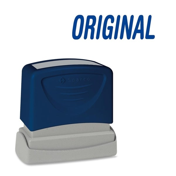 Sparco ORIGINAL Blue Title Stamp - Each