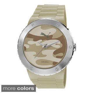 Puma Men's PU103331004 'Blast L' Camo Stainless Steel Watch