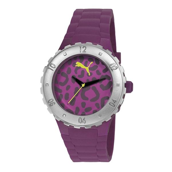 Puma Women's PU103432001 'Blast S' Stainless Steel Camo Watch