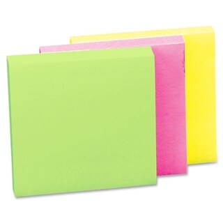 Sparco Premium Plain Adhesive Note Pads (Pack of 12)