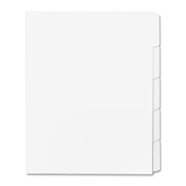 Sparco Single Reverse Collated Index Dividers (Box of 50)