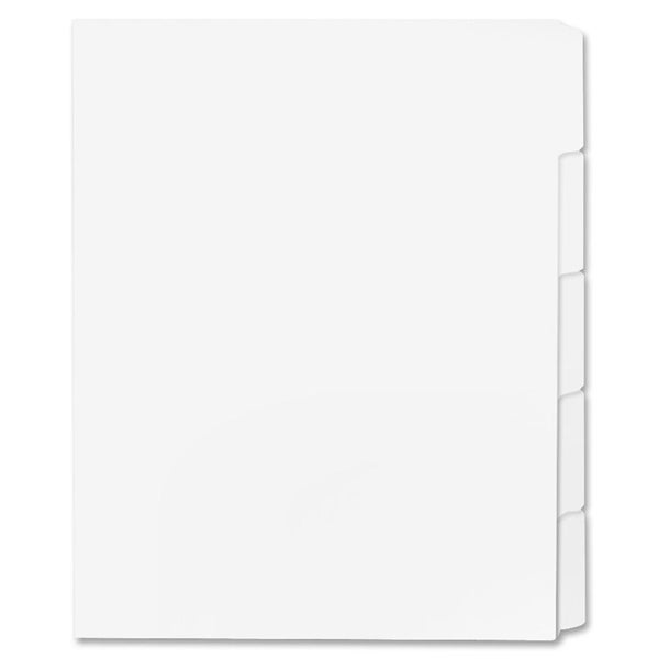 Sparco Straight Collated Printon Tab Dividers (Box of 50)
