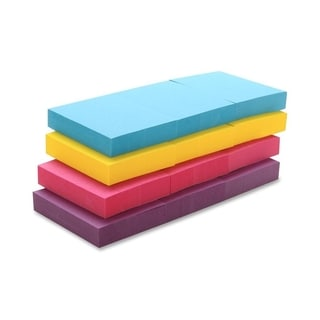 Sparco Repositionable Adhesive Sticky Note Pads - 12/PK