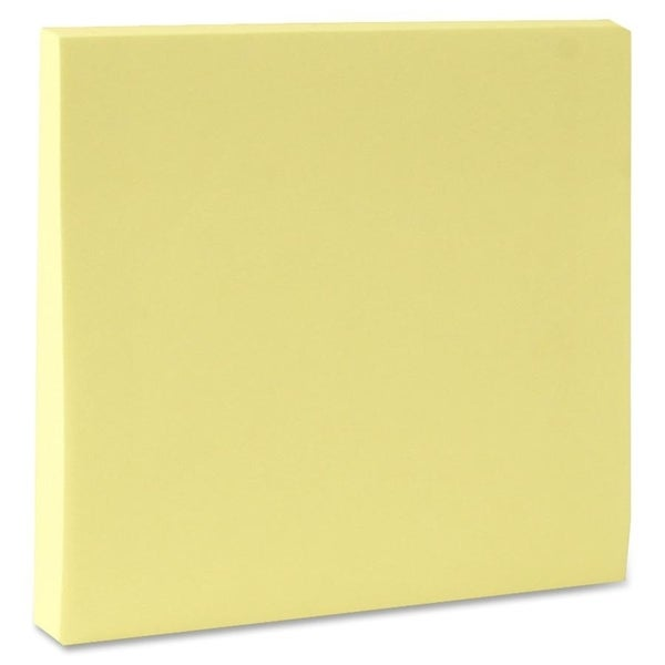 Sparco Premium Yellow Adhesive Sticky Notes (Pack of 12)