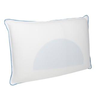 Temp Sense Memory Foam Pillow with Cooling Gel Pad
