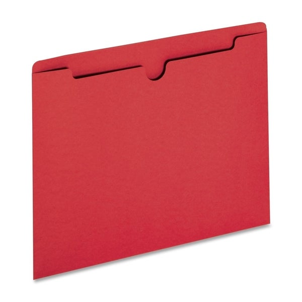 Sparco Reinforced Tabs Coloured File Jackets - 100/BX