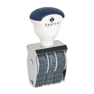 Sparco Date Rubber Stamps