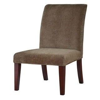 Powell Olive Green Chenille Parsons Chair Slipcover