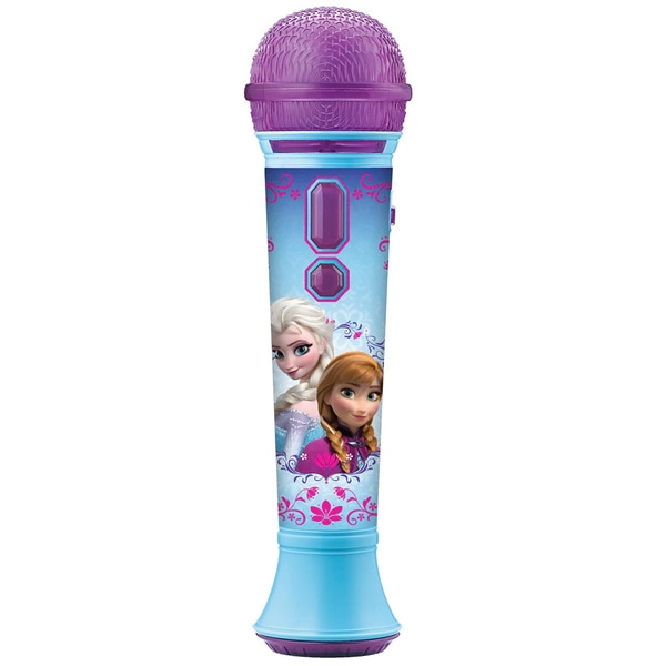 Disney's Frozen Cool Tunes MP3/ Smartphone Microphone with Flashing Lights and Built-in Songs
