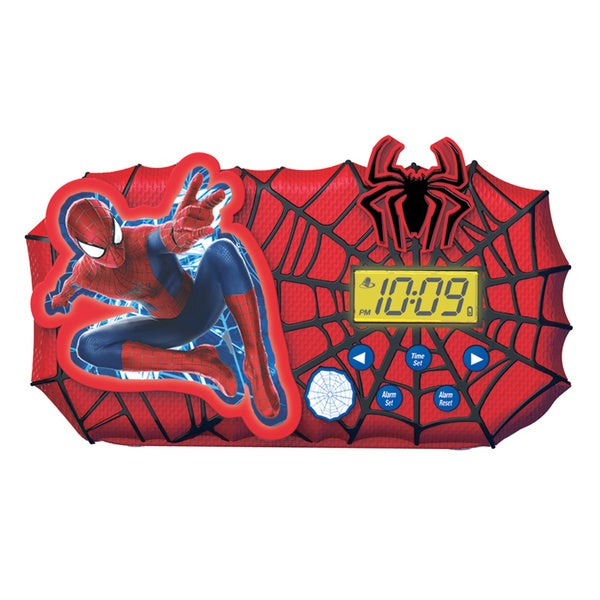 Spider Man 2 Alarm Clock with Sleep Timer Night Light