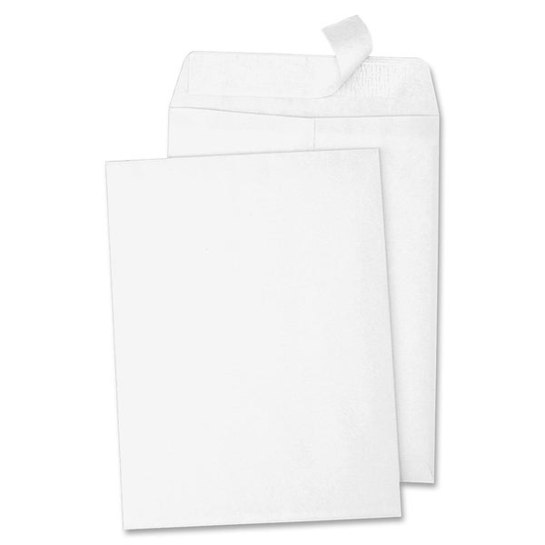 Sparco Peel & Seal White Catalog Envelopes (Box of 100)