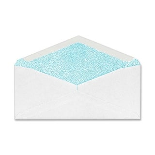Sparco Security White Wove Commercial Envelopes - 500/BX