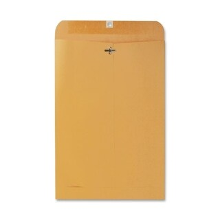 Sparco Extra Heavy-duty Kraft Clasp Envelopes - 100/BX