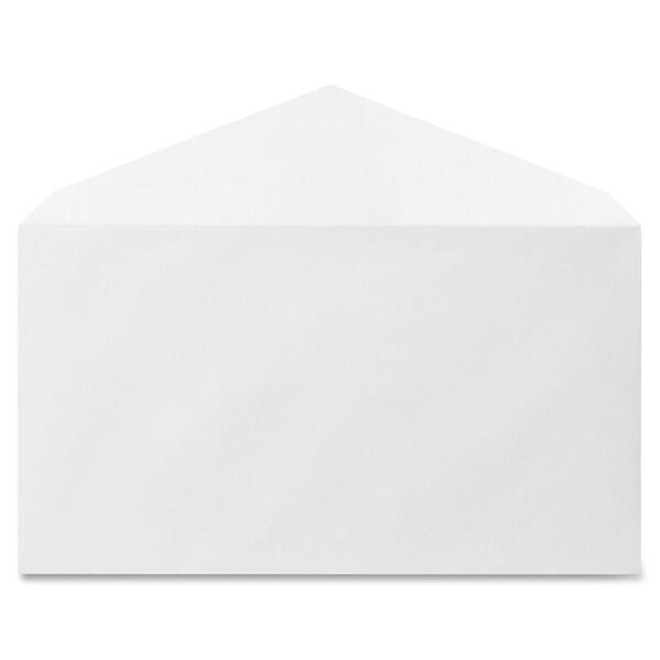Sparco Diagonal Seam White Woven Envelopes (Box of 500)