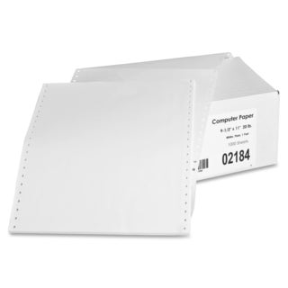 Sparco Convenience Pack 1-part Computer Paper (Box of 1000)