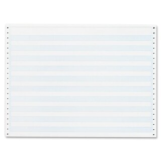 Sparco 1/2-inch Blue Bar 1-part Computer Paper (Box of 2400)