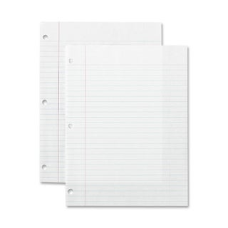 Sparco Standard White 3-hole Punch Filler Paper (Pack of 200)